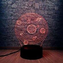 3D-Licht-Lampe, Kinder-Nachtlicht, Geschenke für