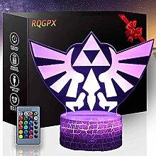 3D-Lichter Illusion The Legend of Zelda 16 Farben