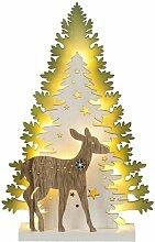 3D-Lichterbaum Weihnachtswald