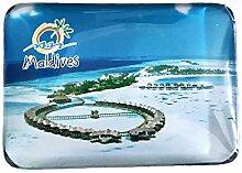 3D Malediven Kühlschrank Kühlschrankmagnet