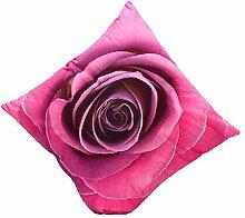 3D-maple leaf Blume Drucken Festival Kopfkissen Mode Bed Home Aufkleber Kissen hülle Cover vintage Stil, pink