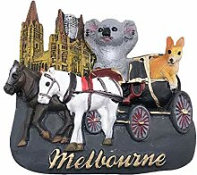 3D Melbourne Australien Kühlschrank