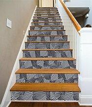 "3D Metall Streifen Textur 43 Stair Risers Dekoration Fototapete Vinyl Aufkleber Tapete DE Carly (15x H:18cm x W:94cm (7""x37""))"