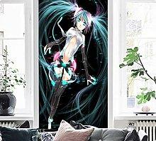 3D Miku Hatsune 271 Japan Anime Tapeten Drucken