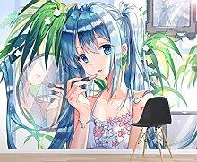 3D Miku Hatsune 332 Japan Anime Tapeten Drucken