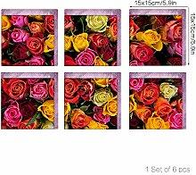 3D Mode Nachahmung Dreidimensionale Farbe Rose