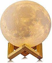 3D Mond Lampe, Love shang Lv Nachtlicht