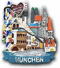 3D München Deutschland Kühlschrank