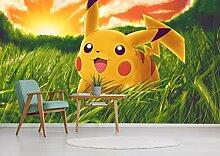 3D Murals for Pokemon Pikachu 241 Japan Anime