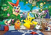 3D Murals for Pokemon Pikachu 536 Japan Anime