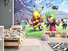 3D Murals for Pokemon Pikachu 537 Japan Anime