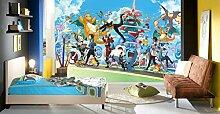 3D Murals for Pokemon Pikachu 563 Japan Anime