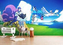 3D Murals for Pokemon Pikachu Himmel 305 Japan