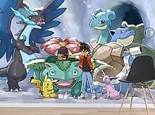 3D Murals for Pokemon Pikachu Monsters 74 Japan