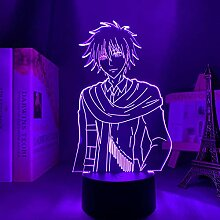 3D Nacht Lampe Anime Illusion Lampe 3D Lampe Anime
