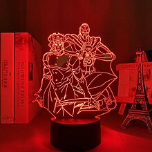 3D Nacht Lampe Anime Illusion Lampe 3D Licht Anime