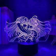 3D Nacht Lampe Anime Illusion Lampe Anime Citrus