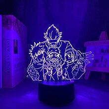 3D Nacht Lampe Anime Illusion Lampe Anime Lampe