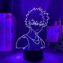 3D Nacht Lampe Anime Illusion Lampe Anime