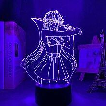 3D Nacht Lampe Anime Illusion Lampe Anime Zukunft