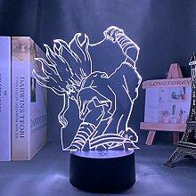 3D Nacht Lampe Anime Illusion Lampe Dr stone anime