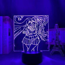 3D Nacht Lampe Anime Illusion Lampe