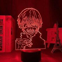 3D Nacht Lampe Illusion Lampe Osterdeko Anime 3d