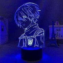 3D Nacht Lampe Illusion Lampe Osterdeko Anime