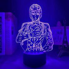 3D Nacht Lampe Illusion Lampe Osterdeko JoJos