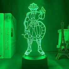3D Nacht Lampe Illusion Lampe3d LED-Lampe Anime