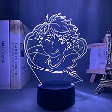 3D Nacht Lampe Illusion LampeHaikyuu Oikawa Tooru