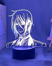 3D Nacht Lampe Illusion LampeLed Nachtlicht Anime