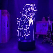 3D Nacht Lampe Led Light Anime Kill La Kill Ryuko