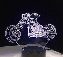 3D Nachtlicht 3D Design Motorrad Nachtlicht