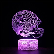 3D Nachtlicht 3D Illusion Lampe Oakland Raiders 16