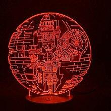 3D Nachtlicht 3D Lampe Star Wars Licht für