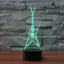 3D Nachtlicht 7 Farbwechsel Touch 3d Lampe