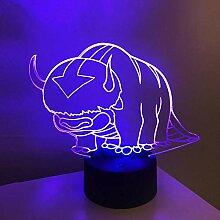 3D Nachtlicht Anime 3D Acryl Lampe Avatar Das