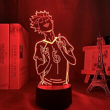 3D Nachtlicht Anime 3d Lampe Anime Haikyuu Tendou