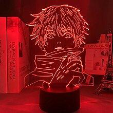 3D Nachtlicht Anime Anime Lampe Satoru Gojo Licht