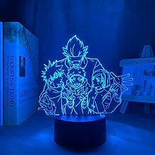 3D Nachtlicht Anime Anime Lampe Satoru Gojo Team