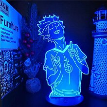 3D Nachtlicht Anime Haikyuu LED Nachtlichter