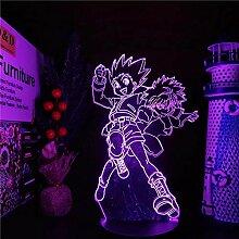 3D Nachtlicht Anime Hunter X Hunter Gon und Killua