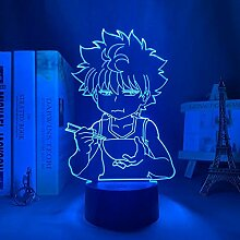 3D Nachtlicht Anime Hunter X Hunter Killua Led