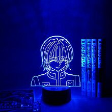 3D Nachtlicht Anime Kurapika Figur Acryl