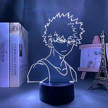 3D Nachtlicht Anime Mein Held Academia Bakugo