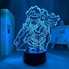 3D Nachtlicht Anime Mein Held Academia Izuku