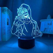 3D Nachtlicht Anime Mein Held Academia Tomura