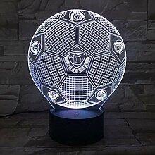 3D Nachtlicht Dresden Dynamo Fußball Illusion