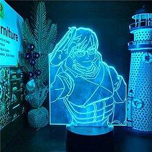 3D Nachtlicht für Jungen My Hero Academia Iida